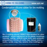 Caoutchouc de silicium de prix usine pour le moulage de pneu