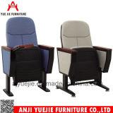 Tipo plegable y del hierro silla Yj1001d del metal del auditorio