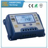 Hochfrequenzsolarcontroller mit LCD-Bildschirmanzeige (ST6-20)