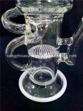 narguilé de fumage Shisha de conduite d'eau de la pipe a-86 en verre