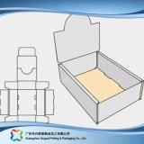 Scatola impaccante pieghevole di carta del cartone/ondulata presentazione (xc-dB-009A)