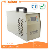 Suoer UPS 1000W inversor de energia sinusoidal puro com carregador de bateria (HPA-1000C)