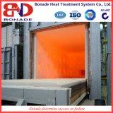 Fornace del riscaldamento del focolare del carrello ferroviario per il rullo del laminatoio