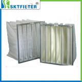 Filtro Pocket F6, filtro de bolso de filtro del bolsillo del filtro de aire G4 F5 F6 F7 F8, filtro de la HVAC de bolso del aire acondicionado