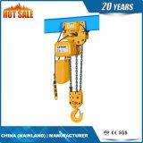 7.5 Élévateur à chaînes électrique à deux vitesses de T avec 3 automnes à chaînes