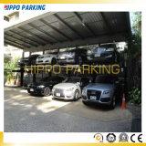 Домашний подъем стоянкы автомобилей уровня столба 2 гаража 2 для миниых автомобилей