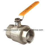 Латунный шариковый клапан с резьбой ISO 228/1