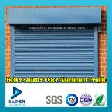 Profil en aluminium d'extrusion du marché de la Tanzanie pour le guichet de porte d'obturateur de rouleau