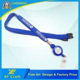作業カード(XF-LY14)のための自由なデザインの安いカスタマイズされた締縄ストラップ