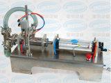 水平の空気の単一ヘッド半自動液体の充填機