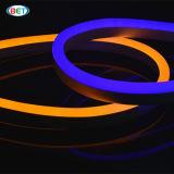 110V는 백색 또는 빨강 또는 파랑 또는 녹색 코드 LED 매우 얇은 네온 코드 밧줄 빛을 냉각한다