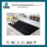 Zwart Glas Ceramische Cooktop met Certificaat RoHS