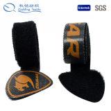 Laço de cabo personalizado de gancho e loop de alta qualidade