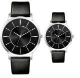 Yxl-338 Fashion Design simples par amante assistir a banda de couro presente de promoção das mulheres e homens relógios barata