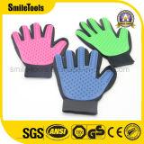 Haustier Deshedding Pflegenhaar-Abbau-Handschuh für Hunde und Katzen