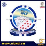 11,5g Sticker Poker Chip com autocolantes disponíveis (SY-D17D-1)