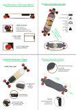 2017 대중적인 무선 통제 전기 스케이트보드