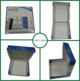 La caja de cartón acanalado para el zapato restaura la caja de cartón de encargo del kit para enviar