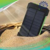 La Banca impermeabile portatile solare di potere 20000mAh del caricatore mobile doppio del USB