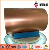 Ideabond a enduit la bobine d'une première couche de peinture en aluminium pour l'obturateur de rouleau (AE-32K)
