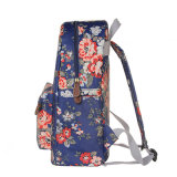 3 размера делают великобританский флористический Backpack водостотьким холстины (23182)