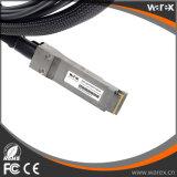Il cavo 40GBASE-CR4 compatibile QSFP della fibra a 4 10GBASE-CU dirige il cavo di rame 50cm di sblocco dell'attaccatura