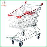 Ketteneinzelhandelsgeschäft-faltende Einkaufen-Laufkatze (JT-EC16)