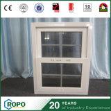 안쪽으로 두 배 유리제 석쇠를 가진 상한 PVC 단 하나 걸린 Windows