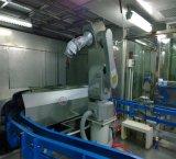 Completare la riga automatica della verniciatura a spruzzo del robot per il volante