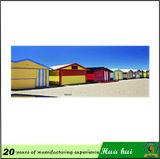 벽 훈장 금속은 양철 현대 바다 경치 색칠 C216를 서명한다