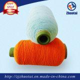 La gomma della Cina ha coperto il filato di poliestere per i guanti dei calzini