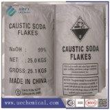 A soda cáustica Flocos de pérolas, 99%, hidróxido de sódio, Naoh