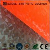 スポーツシューズおよび袋のための多色刷りのCullet PVC総合的な革