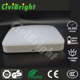 18W LED Squre techo con alta resistencia al impacto