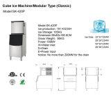 De hete Nieuwe Modulaire Commerciële Machine van het Ijs van de Kubus