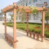 최신 전망대를 위한 판매에 의하여 주문을 받아서 만들어지는 디자인 WPC 옥외 정원 Pergola