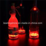 Bunter Farbe-Ändernder versenkbarer Licht-Partei-Stab-Wein-Flaschen-Nachtlicht-Diffuser (Zerstäuber) der Huka-Fernsteuerungs10