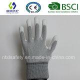 Верхней части PU ESD перчатка Nylon подходящая (ESD-PU201)