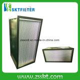 Rectángulo del filtro del aire HEPA de la eficacia alta