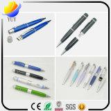 Lanzamiento de lápiz USB de múltiples funciones de láser USB para regalos promocionales