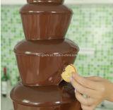 Fontana commerciale del cioccolato del commercio all'ingrosso della macchina della fontana del cioccolato di prezzi bassi