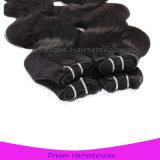 Человеческие волосы объемной волны надкожиц девственницы бразильские