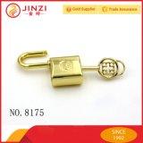 Высокопоставленный ключ китайского типа и выгравированный Padlock логоса, декоративный замок