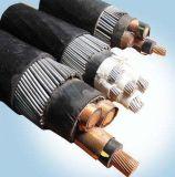 XLPE изолировало обшитый PVC силовой кабель Swa медный