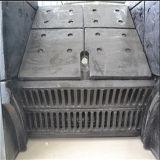 Placa elevada do forro do triturador do aço de liga do Cr
