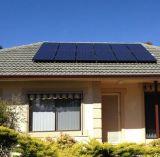 système d'alimentation de panneau solaire de toit de tuile 1kw/toit plat