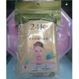 mascarilla suave del polvo del oro activo 24k que aclara la máscara facial antienvejecedora del BALNEARIO de lujo