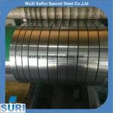 Escasa anchura de 1,0 mm de acero inoxidable 301 THK tira con dureza 1/4