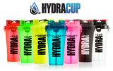 700ml 25oz BPA-Freie Großhandelsschüttel-apparatflasche, Protein-Schüttel-Apparat mit zwei Behältern
