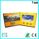 """중국 공급자 2.4 """" - 7.0 """" LCD 영상 브로셔 인사장"""